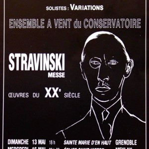 Stravinski messe Ensemble vocal de Meylan