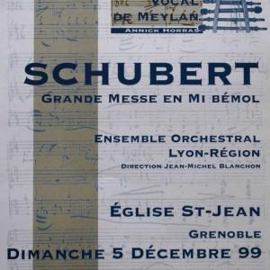 Schubert grande messe en Mi bémol