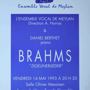 Brahms zigeunerlieder