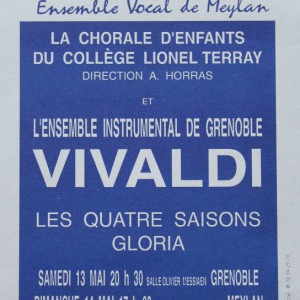 Vivaldi les quatre saisons Ensemble Vocal de Meylan