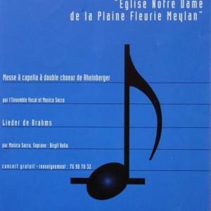 Lieder de Brahms 1996 EVM