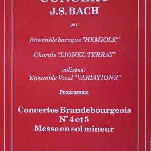 Concert Brandebourgeois