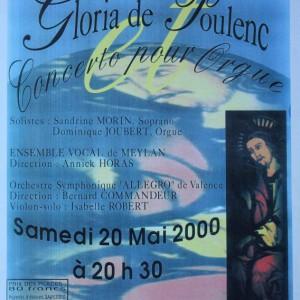 Gloria de Poulenc 2000