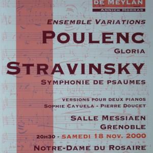 Poulenc Stravinsky 2000