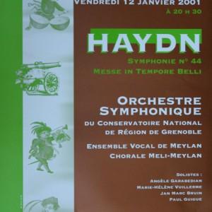 Haydn messe in tempore belli