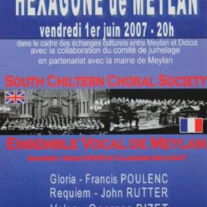 Grand concert choral Hexagone de Meylan