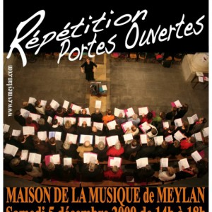 Répétitions Ensemble vocal de Meylan
