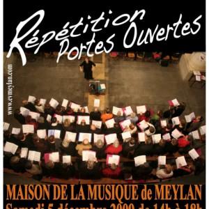 Répétitions Ensemble vocal de Meylan