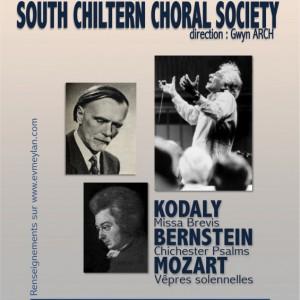 South chiltern choral society ensemble vocal de meylan