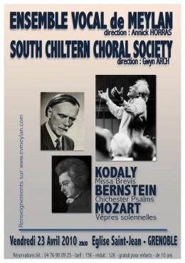 Kodaly Bernstein Mozart