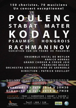 Affiche Poulenc