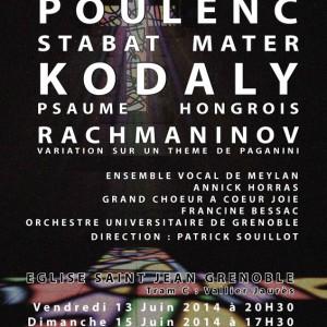 Poulenc 2014