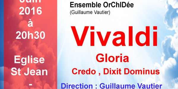 vendredi 3 juin 2016  - Eglise St Jean  -  Grenoble - 20h30