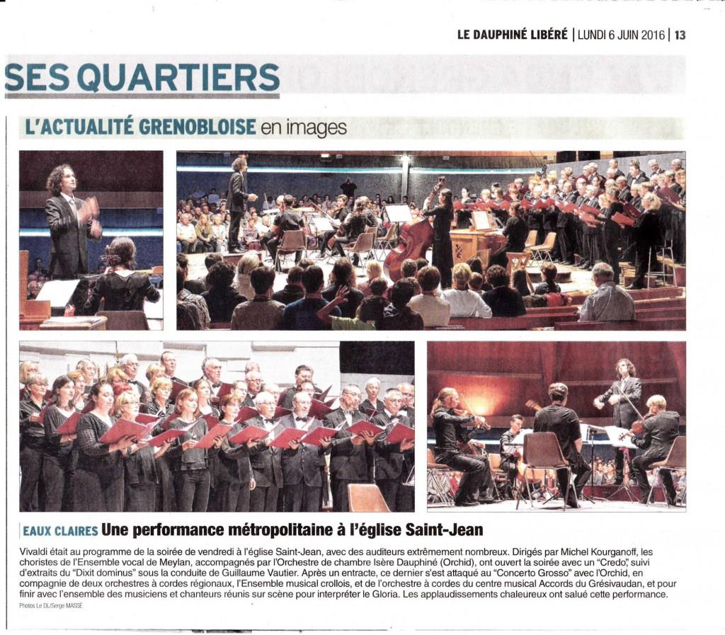 Concert Vivaldi -St Jean- Grenoble