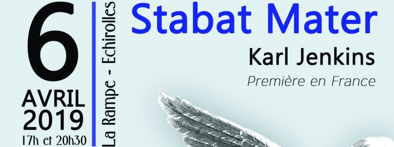 "2 Concerts ""Stabat Mater"" Karl JENKINS"